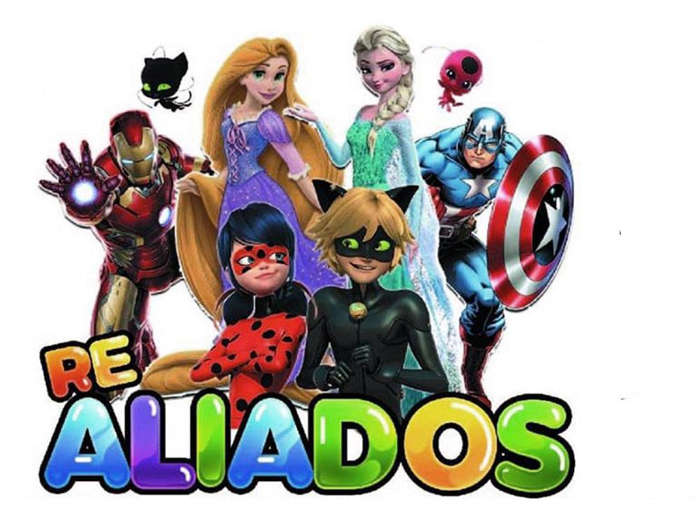 Re Aliados Superheroes en vacaciones de invierno 2019